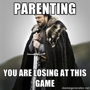 parenting game