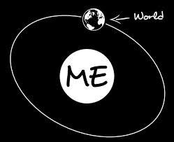 world revolves around me